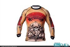Today on BJJHQ Tatami Samurai Panda Rashguard - $40